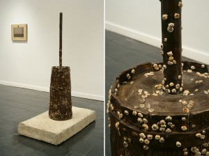Robert Gober, Untitled, 1994-2010, Bronze and painted resin, 64 x 25 x 47 in. (Courtesy of the artist and Matthew Marks Gallery)